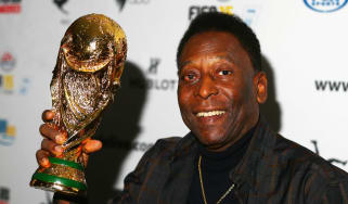 Brazilian icon Pele is regarded by many as football's greatest ever player
