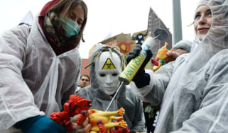 The use of antibiotics on animals has drawn huge protests