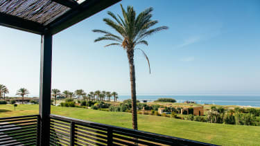 A view from the balcony at Verdura Resort