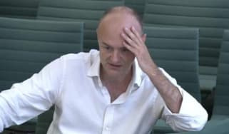 Dominic Cummings gives evidence to MPs