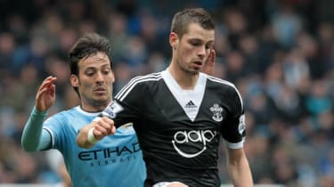 Southampton midfielder Morgan Schneiderlin