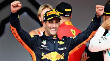 Daniel Ricciardo Formula 1 Monaco GP