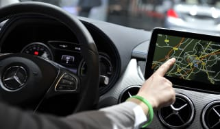 in-car touchscreens