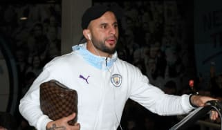 Manchester City defender Kyle Walker