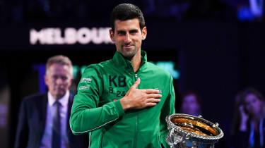 Novak Djokovic won his 17th grand slam at the 2020 Australian Open