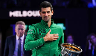 Novak Djokovic won his 17th grand slam at the 2020 Australian Open