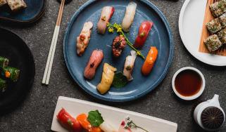 A selection of Sachi sushi