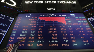 Steep losses on Wall Street have caused global stock market slump