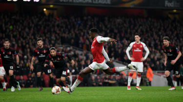 Danny Welbeck dive Arsenal Milan Europa League