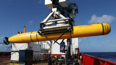 Specialist search vessels search for flight MH370