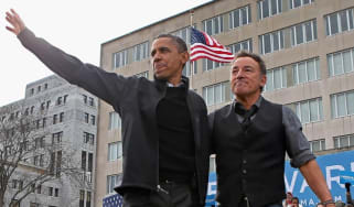 Obama and Springsteen: 'homespun wisdom' in Renegades