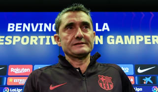 Ernesto Valverde has been fired by Barcelona