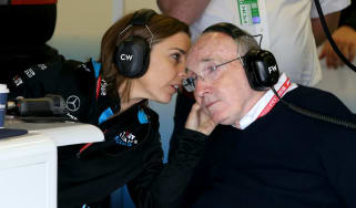 Claire Williams and Frank Williams are leaving Williams Racing F1 team