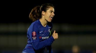 England and Chelsea women's footballer Karen Carney received death and rape threats on social media