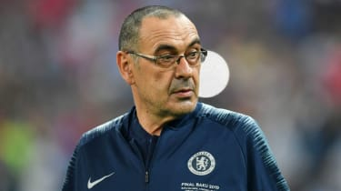 Maurizio Sarri's spell as Chelsea manager looks set to end
