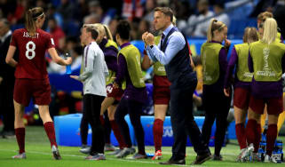 Phil Neville led England to the semi-finals of the Fifa Women's World Cup in 2019