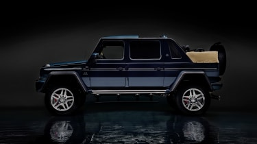 Mercedes-Maybach G 650 Landaulet ;*Kraftstoffverbrauch kombiniert: 17,0 l/100 km, CO2-Emissionen kombiniert: 397 g/kmMercedes-Maybach G 650 Landaulet; *Fuel consumption combined: 17.0 l/100 k