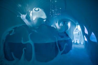 Art suite -Ground RulesCarl Wellander & Ulrika Tallving ICEHOTEL 28Photo by - Asaf Kliger