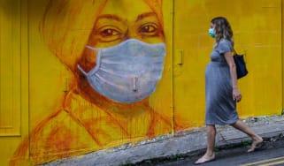 Pregnant woman coronavirus