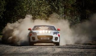 Jaguar F-Type rally