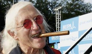 Jimmy Saville at The Bupa Great North Run