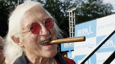 Jimmy Saville at The Bupa Great North Run