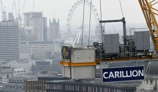 Carillion logo in London