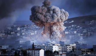 Kobane suicide bomb