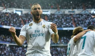 Benzema goals video Real Madrid Bayern Munich Champions League