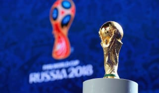 Fifa World Cup trophy Russia 2018