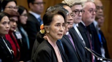 Aung San Suu Kyi, Myanmar, ICJ