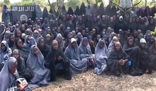 Schoolgirls kidnapped by Boko Haram