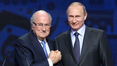 Putin and Blatter