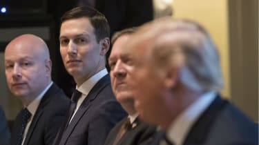 Jared Kushner has fallen out of favour with President Trump in recent months