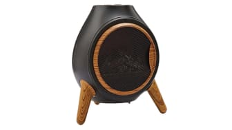 Chiminea-style Flame Effect Heater