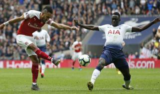 Arsenal and Tottenham drew 1-1 at Wembley Stadium on 2 March 2019