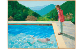 Portrait of an Artist (Pool with Two Figures) by David Hockney