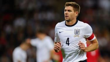 Steven Gerrard calls time on his international career
