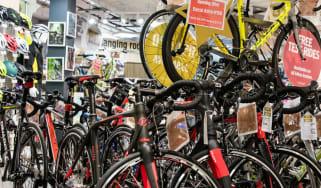 Bikes and cycling equipment at Halfords