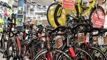 Bikes and cycling equipment at Halfords