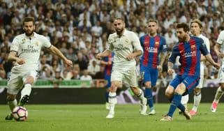 Lionel Messi Barcelona Real Madrid El Clasico