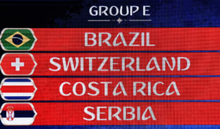 2018 World Cup group E fixtures Brazil Switzerland Costa Rica Serbia Mladen Antonov Getty Images