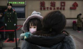 Child in China