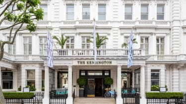 The Kensington hotel exterior