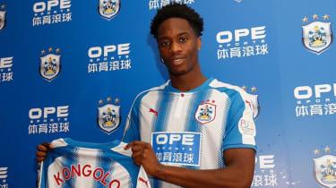 Terence Kongolo Monaco Huddersfield Town loan transfer Twitter