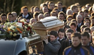 Michaela Harte's funeral