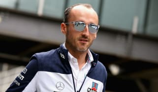 Poland's Robert Kubica is the current test and reserve driver at Williams