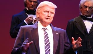 Donald Trump model at Disney World