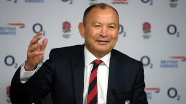England head coach Eddie Jones announces his squad for the 2020 Six Nations