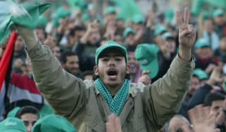 Hamas supporter